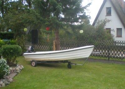 Ruder-/Motorboot